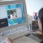 """Post-interview video editing with Final Cut Pro"" by mobile china 2007"