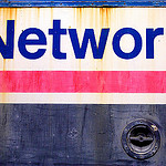 """Network (in glorious Helvetica)"" by Alexander Baxevanis"