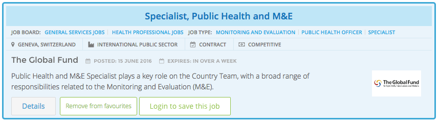 Featured Job Posting