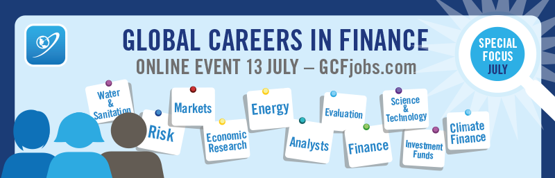 Global Careers in Finance - Global Development - Multilateral Finance 2017 - GCFjobs.com