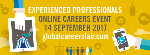 GCFjobs.com Global Careers Fair - 14.09.17 - International Development Jobs