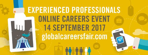 GCFjobs.com Global Careers Fair - 14.09.17 - International Development Jobs