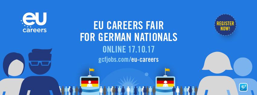 EU Careers - German Nationals Online Event