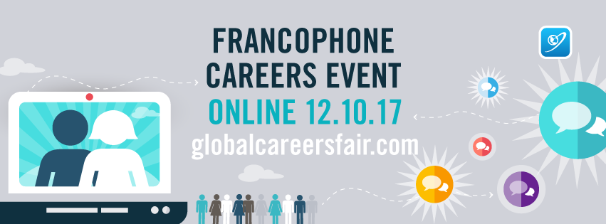Francophone Global Careers Fair - 12 October 2017